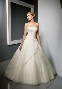 Los vestidos para novias